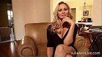 Busty Blonde Milf Julia Ann knows you have been...