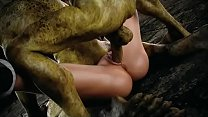 Lara Croft gets all holes wrecked by creepy 3D ...
