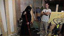 TOUROFBOOTY - Muslim Woman Sweeping Floor Sucks...