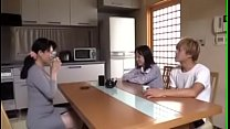 Watch Sexy Japanese Mom and her daughter's BF preview