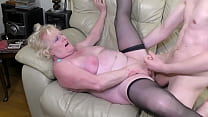 AGEDLOVE Blonde matures got both fucked with on...