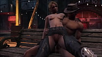 FO4 Horny Blonde in the Night
