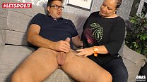 Watch German Aunt gets creampied by her nephew - LETSDOEIT.COM preview
