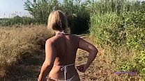 The most beautiful amateur outdoor fuck - part 1
