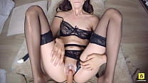 POV PUSSYFUCKING LESBIAN TEEN IN SEXY LINGERIE ...