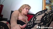 This cute_milf gets off while watching her horny hubby slamming a tight younger babe. Thumbnail