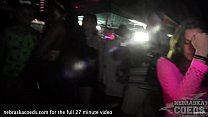 mardi gras style party in key west florida with hot girls flashing their titties Thumbnail