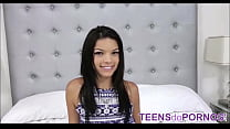 Very Sexy POV Scene With A Cute Petite Teen Wit...