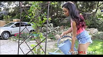 Sexy Cheating Young Wife Maya Bijou Fucked Hard...