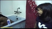 real desi indian girl gets rough banged by whit...