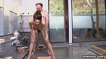 Wet and fun cock sucking session ending with a ...