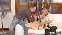 Big tit blonde trainer  old lady lesbian porn