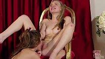 GIRLSGONEWILD - Young Ballerinas Eating Each Ot...