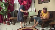 Very intense fuck for a very old woman / granny