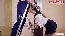 LETSDOEIT - Deutsche Sexy Teen Mia Blow Sucks A...