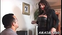 Dinky rams tight copher of an aroused girlie