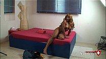 Swiss Pornmodel Jaya 22y on the Porn Masturbati...