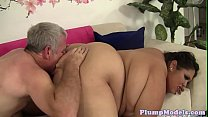 Sixtynining SSBBW gets fucked in doggystyle