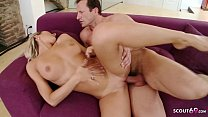Young Blonde Teen Talk her big Dick Boss to Fuc...