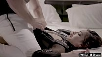 Teen sex robot accepts her new client.She trans...