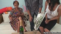 Watch Her hubby fucks mother inlaw from behind preview
