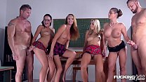 Fucking in glasses gives Dolly Diore & Cathy He...