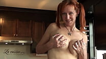 Cute Canadian mature Redhead teasing