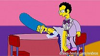 Simpsons Porn - Marge and Artie afterparty Thumbnail