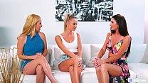 Emma, Silvia & Aaliyah are lovemaking