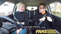 Fake Driving School ends up with Hardcore Sex Thumbnail