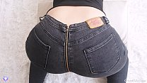 Sex with MILF and her Big Booty Jeans