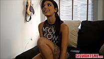 Young Petite Small Tits Italian Stepsister Gina...