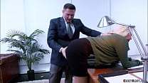 Boss John Strong and his employee Seth Gamble b...