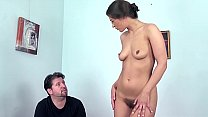 Reality. Beautiful natural girl masturbates fir...