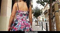 Oyeloca - Latina Chick (Pamela Sanchez) Gets Ha...