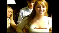 teen party on webcam