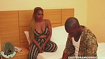 naija girl with  big ass and wet pussy ride and...