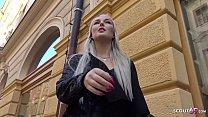 GERMAN SCOUT - SKINNY BLONDE COLLEGE GIRL LOVIT...