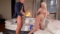 Curvaceous Sandra Star gets her milf ass smashe...