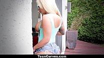 Teen Curves - Big Ass Slut Brandi Bae Fucked Hard