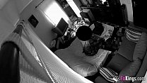 Security cams film a woman cheating on her husb...