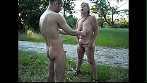 Watch Whore Suzi showing what is for sale to her client and others preview