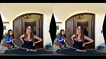 VR Threesome with Trinity St. Clair & Dava Foxx...