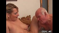 Amazing blonde Natalie with massive natural tit...