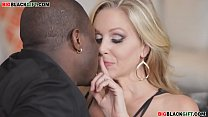 mature with big tits plays with a big black cock