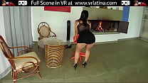 First Porn For Big Ass Latina With Hard Body VR