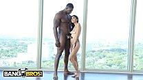 BANGBROS - Brunette Latina Riding A Big Dick On...