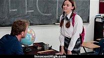 InnocentHigh - Shy Schoolgirl (Jay Taylor) Fuck...