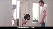 Family Strokes - Naughty Step-sons Fucked Their...