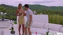 VIXEN Luscious babe cuckolds her BF